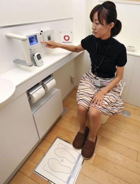 Высокотенологичный японский туалет